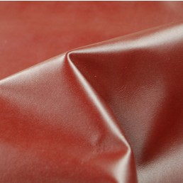 RED  BURGUNDY   UPHOLSTERY COW HIDE LEATHER    c4a