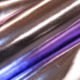 C5B Lilac Purple Metallic Leather skin hide / Art & Craft / Novelties