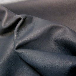Blue Upholstery Hide Leather Skin e57