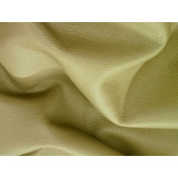Soft Khaki Green Furniture Upholstery Leather Cow Hide Skin e89