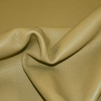 B3AV Soft Khaki Green Upholstery Leather Cow Hide Skin