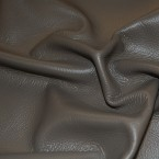 D5C Gray ITALIAN Upholstery Cow Hide Leather Skin