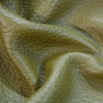 E63 Khaki Green Upholstery Cow Hide Leather Skin