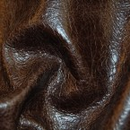 A2E Brown Distressed Upholstery ITALIAN Hide Leather