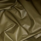 J19U KHAKI UPHOLSTERY COW HIDE LEATHER SKIN